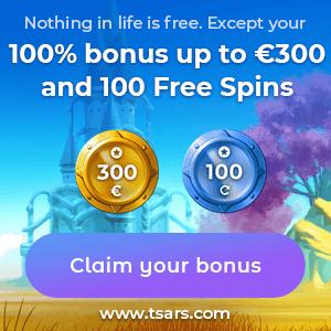 Tsars Casino Bonus Offer