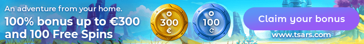 Get Tsars Welcome bonus and Free Spins