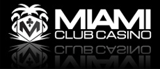 Miami Club Casino supports ENGLISH language