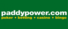 Paddy Power Casino supports ENGLISH language