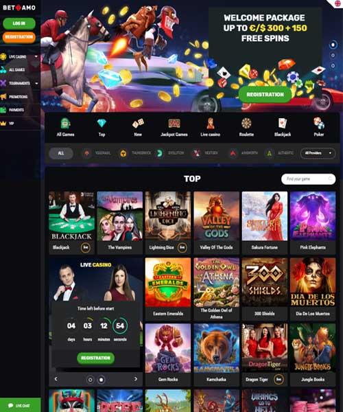 Betamo Casino Review