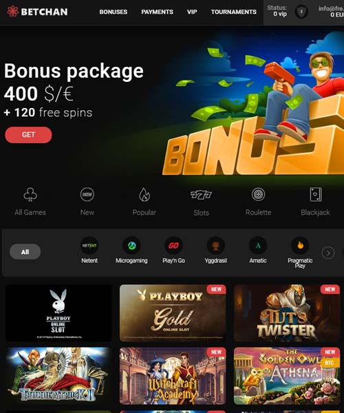 Betchan Casino Review 2020