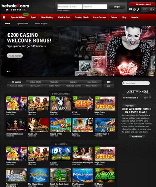 Betsafe Casino Review 2021