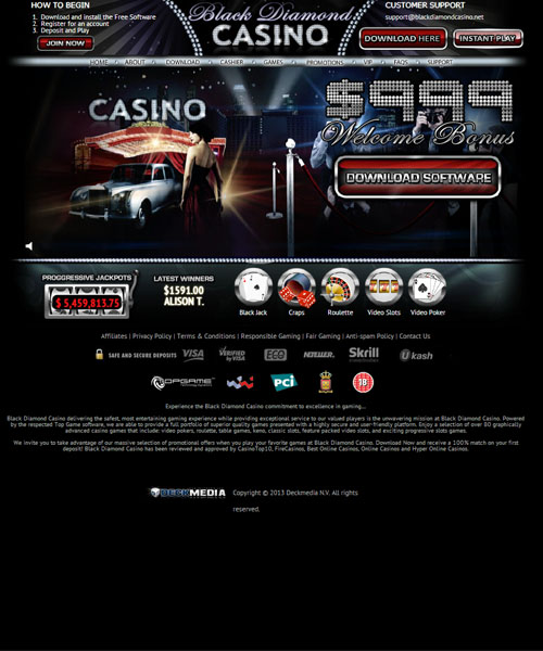 Black Diamond Casino Review 2021