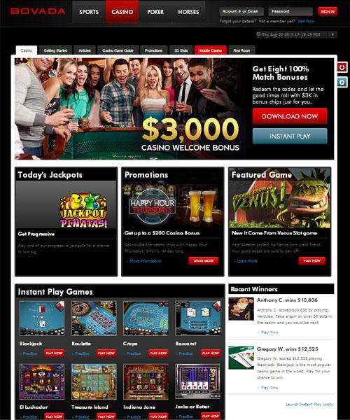 Bovada Casino Review 2021
