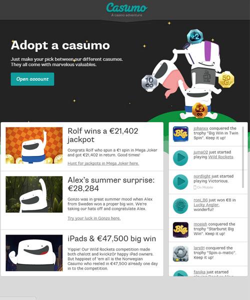 Casumo Casino Review 2021