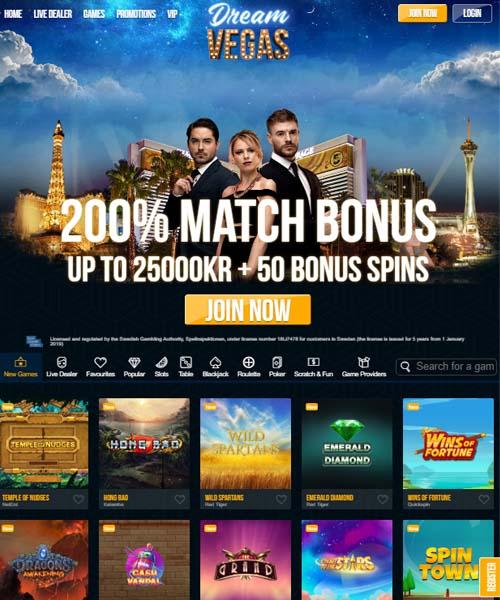 Dream Vegas Casino Review 2021