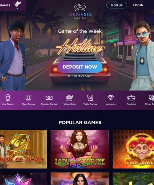 Genesis Casino Review 2021