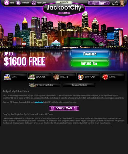 Jackpot City Casino Review 2020