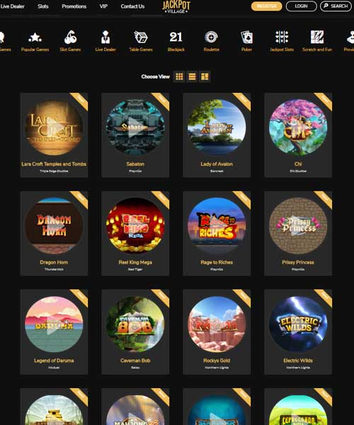 Jackpot Village Casino Review 2021