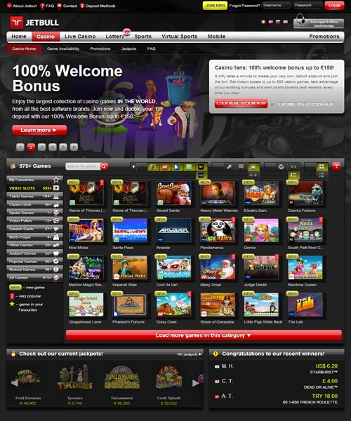 Jetbull Casino Review 2021
