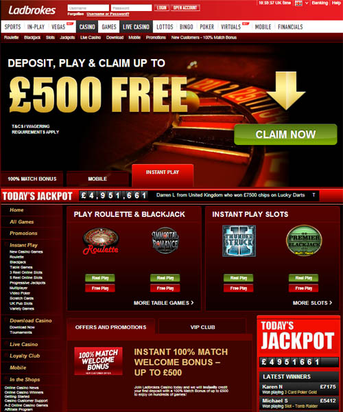 Ladbrokes Casino Review 2021