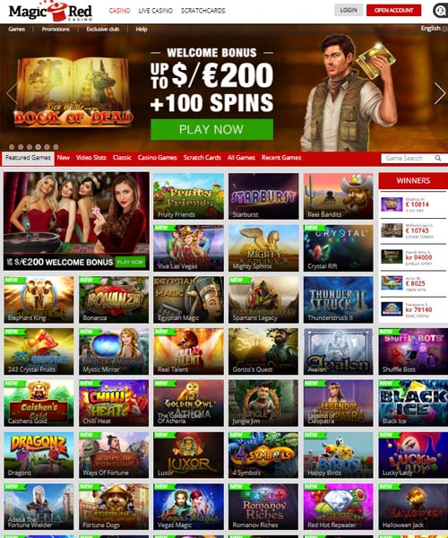 Magic Red Casino Review 2021