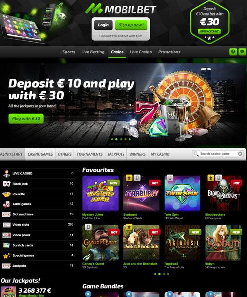 Mobilebet Casino Review 2021