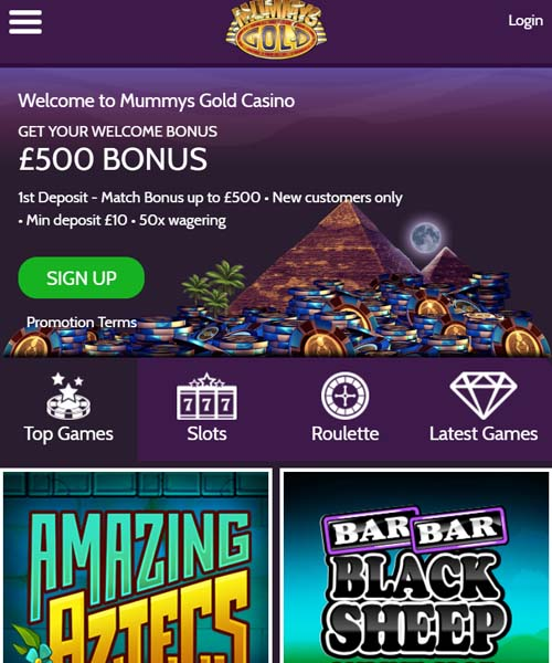 Mummys Gold Casino Review 2021