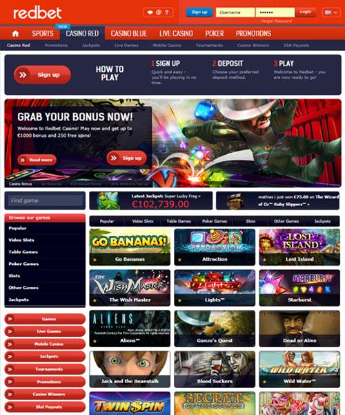 Redbet Casino Review 2021