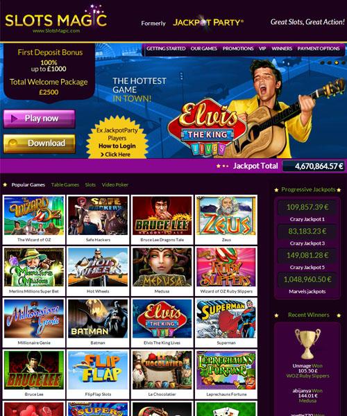 Slots Magic Casino Review 2021