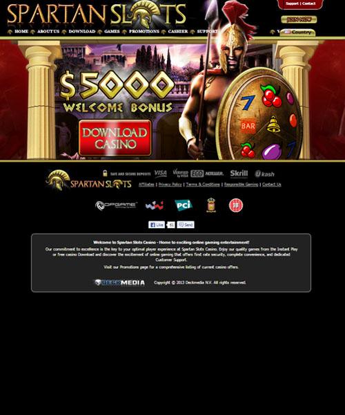 Spartan Slots Casino Review 2020