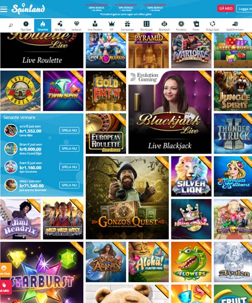 Spinland Casino Review 2021