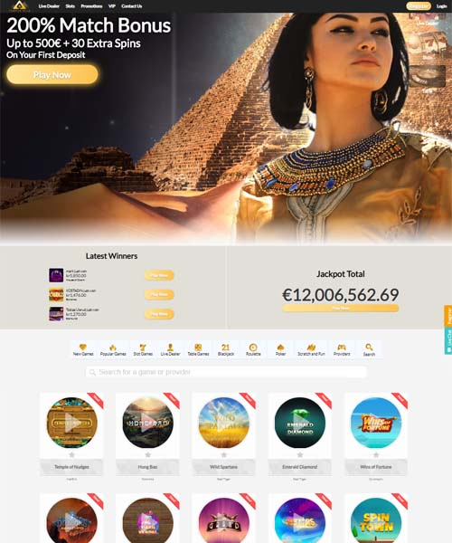 Temple Nile Casino Review 2021