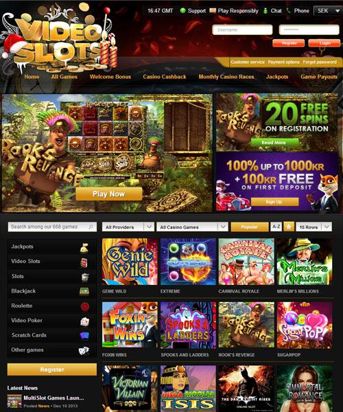 Videoslots Casino Review 2021