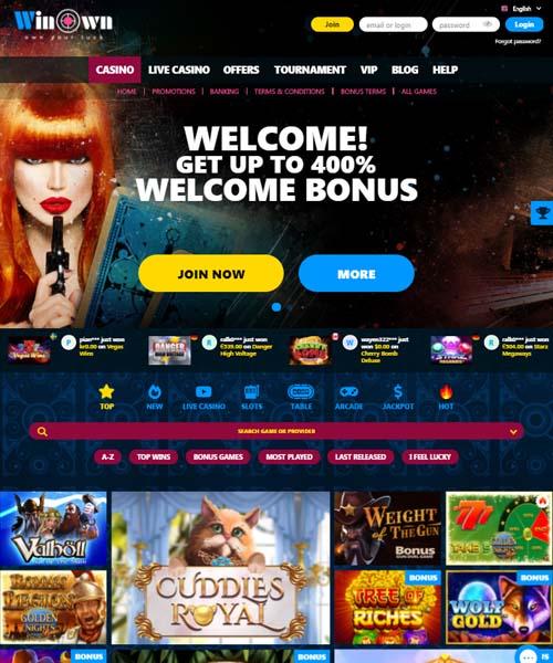 Winown Casino Review 2021