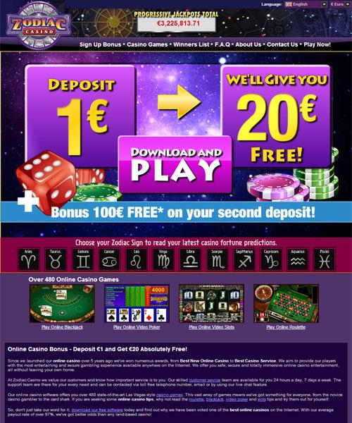 Zodiac Casino Review 2021