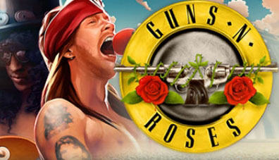 Start the new year with Guns N Roses slot from NetEnt