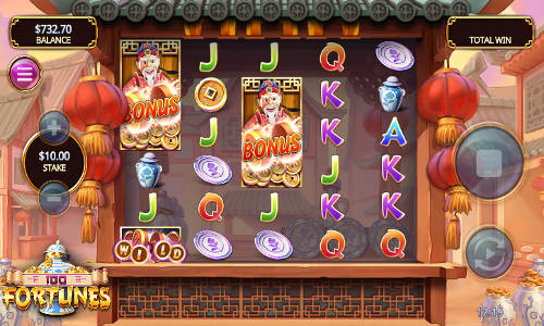 100 Fortunes free slot