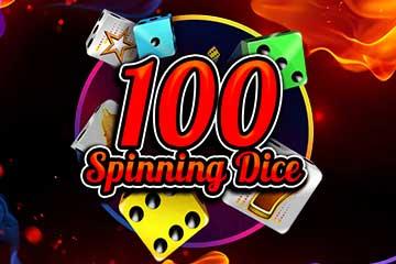 100 Spinning Dice