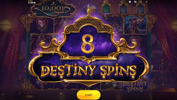 10001 Nights free slot