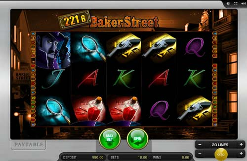 221B Baker Street Slot Machine - Play Online for Free
