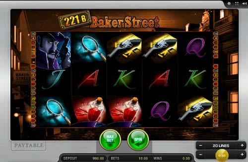 221B Baker Street free slot
