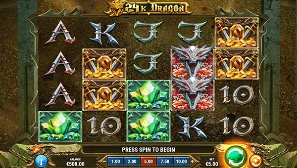 24k Dragon free slot