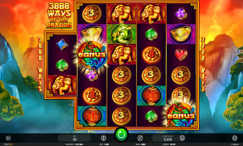 3888 Ways of the Dragon free slot