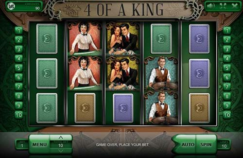 4 of a King free slot