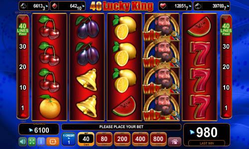 40 Lucky King slot