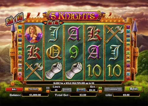 5 Knights free slot
