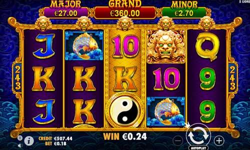 5 Lions Goldjackpot slot