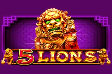5 Lions slot Pragmatic Play