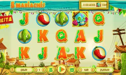 5 Mariachis free slot