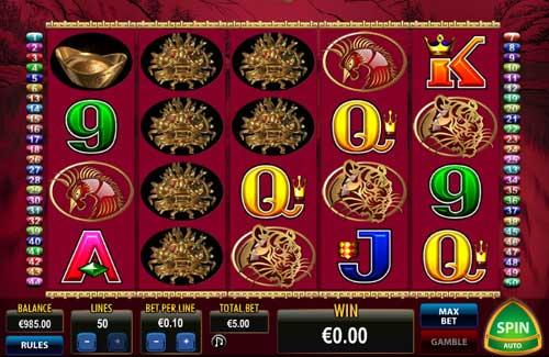 50 Dragons casino slot