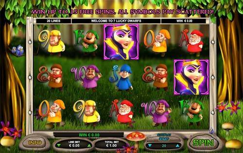 7 Lucky Dwarfs casino slot