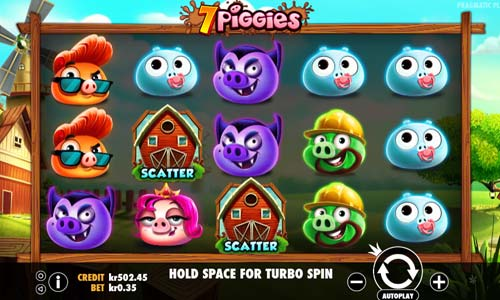 7 Piggies free slot
