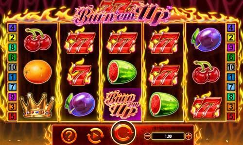 777 Burn Em Up free slot