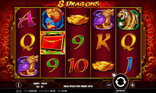 8 Dragons free slot