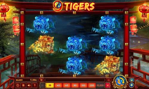 9 Tigers free slot