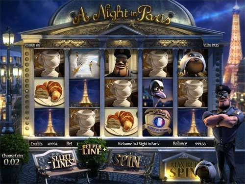 A Night In Paris free slot
