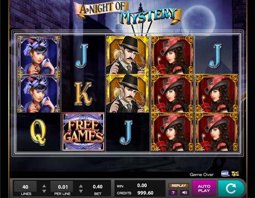A Night of Mystery free slot