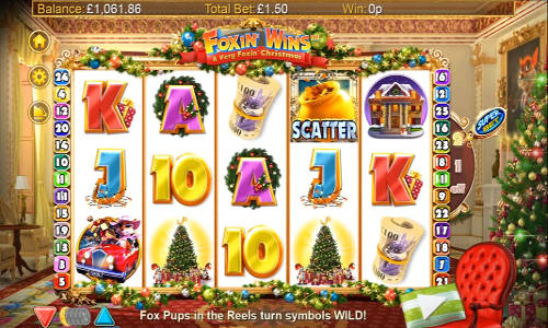 A Very Foxin Christmas slot